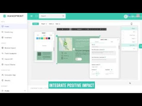 Introducing Handprint - Interactive Impact as a Service