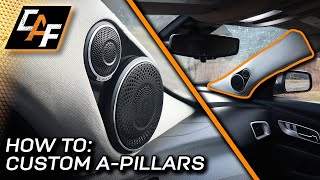 High-End Speakers in Custom A-Pillars! How to build