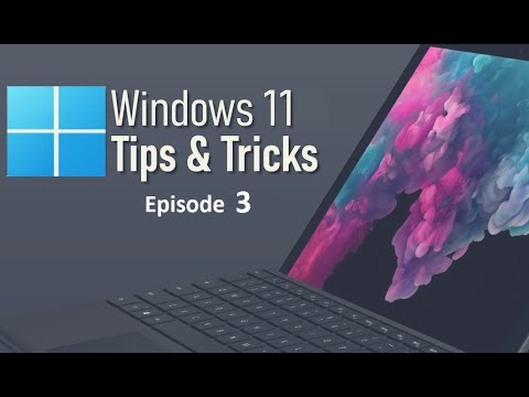 Windows 11 Tips and Tricks   Windows Features   Episode 3   #windowsfeatures #ammarjaved