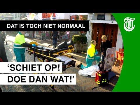 Man scheldt ambulancepersoneel uit - DAT IS TOCH NIET NORMAAL? #08