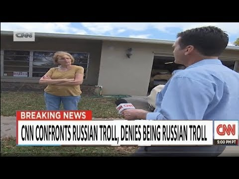 CNN Confronts Facebook User About MUH RUSSIA
