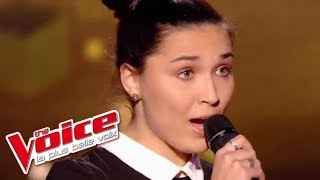 Diam's - Dans le Noir | Camille Esteban | The Voice France 2017 | Blind Audition
