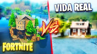 😱 PLACES OF FORTNITE THAT EXIST IN REAL LIFE... 😱
