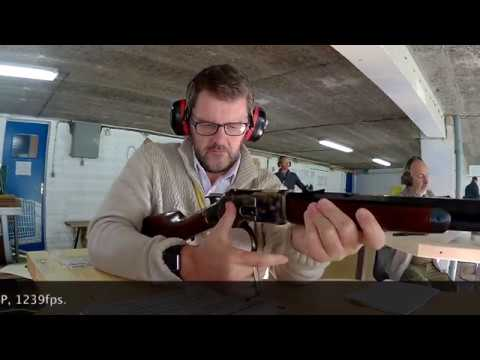 Shooting the Uberti 1873 Short Rifle in .32-20 with Black Powder.