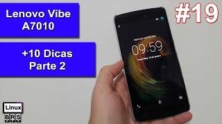 Lenovo Vibe A7010 - [ +10 Dicas e truques ] - Parte 2