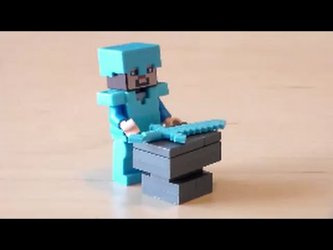 lego minecraft anvil tutorial youtube