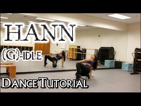 (G)I-DLE((여자)아이들) _ HANN (Alone)(한(一)) - DANCE TUTORIAL PART 1