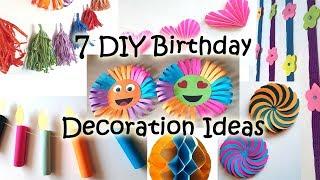 7 DIY Birthday Decoration Ideas At Home