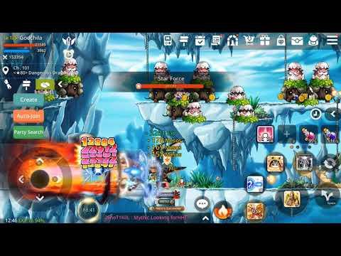 Maplestory M - Evan Skill Set To Tank Sf80 Easy