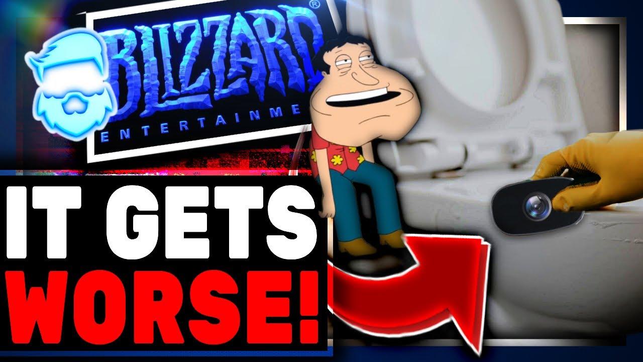 Blizzard Had Hidden Cameras Found In Bathrooms!