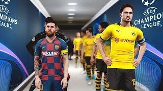 Borussia Dortmund vs Barcelona (Matchday 1) UCL 2019/20 Gameplay