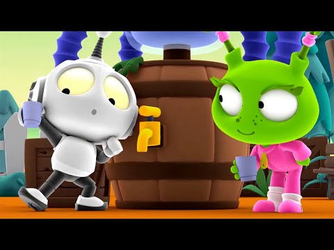Grape Expectations | Rob The Robot | Toddler Learning Video