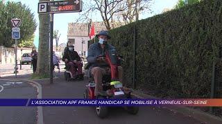 Yvelines | L'association APF France Handicap se mobilise à Verneuil-sur-Seine