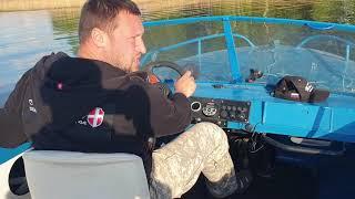 амур-М,  небольшой тюнинг катера, обзор