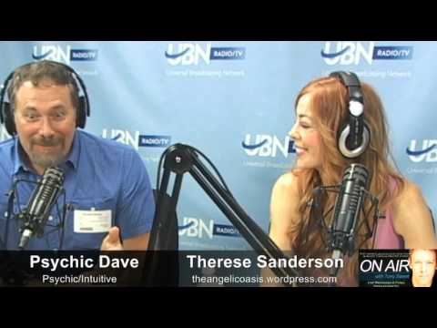 Psychic-Spiritual Salon - Therese Sanderson and Psychic Dave