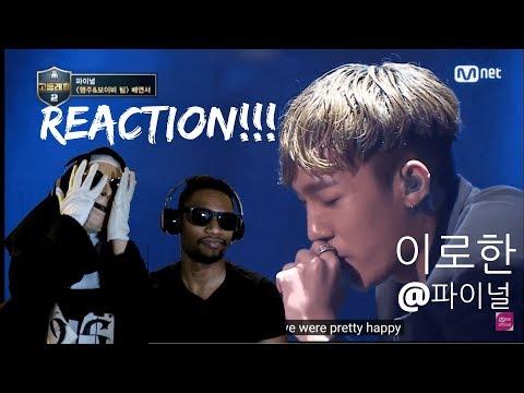 High School Rapper 2 (고등래퍼 2) - 배연서 - 이로한 (Feat. ELO, Jessi) (Prod.Padi) @ 파이널   REACTION!