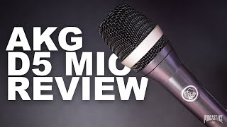 AKG D5 Vocal Dynamic Mic Review / Test
