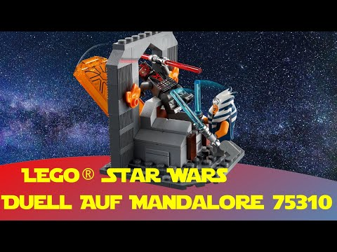 Lego Star Wars Battle on Mandalore (Duell auf Mandalore) 75310 - Ahsoka vs  Darth Maul