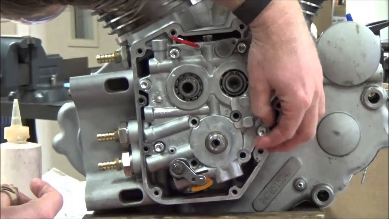 Twin cam series 16 how to install the cam support plate in a twin cam series 16 how to install the cam support plate in a harley davidson tc motor ss jims tp youtube pooptronica