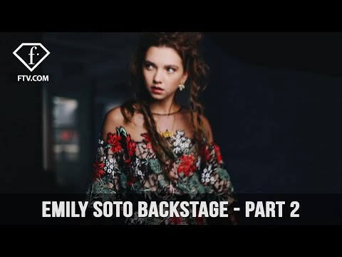 Backstage at Emily Soto Photo shoot at New York - Part 2 | FashionTV