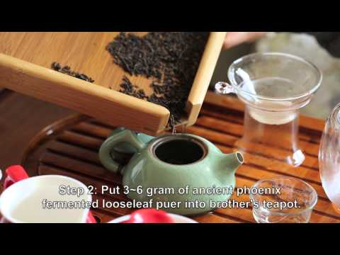 How To Brew Ancient Phoenix Looseleaf Puer Tea