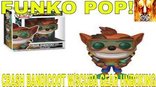 Funko Pop! Crash Bandicoot W/Scuba Gear Unboxing