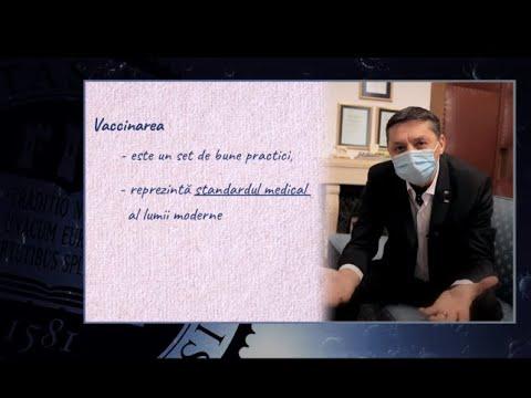 Rectorul UBB Despre Vaccinarea Impotriva COVID 19