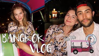 Ended Up In Bangkok | Night Markets, Food Adventures, & My Relationship | Sanne Vloet