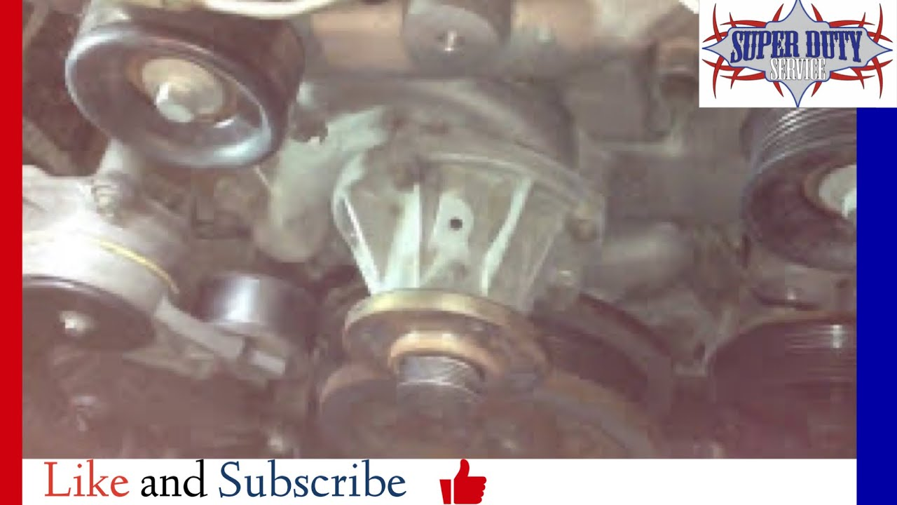 6 0 Powerstroke Coolant Pump Leak