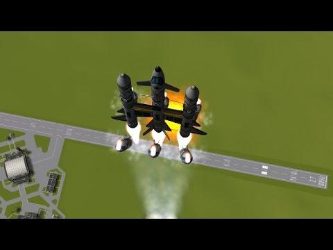 KSP - Fully Reusable Short-Boosted Shuttle