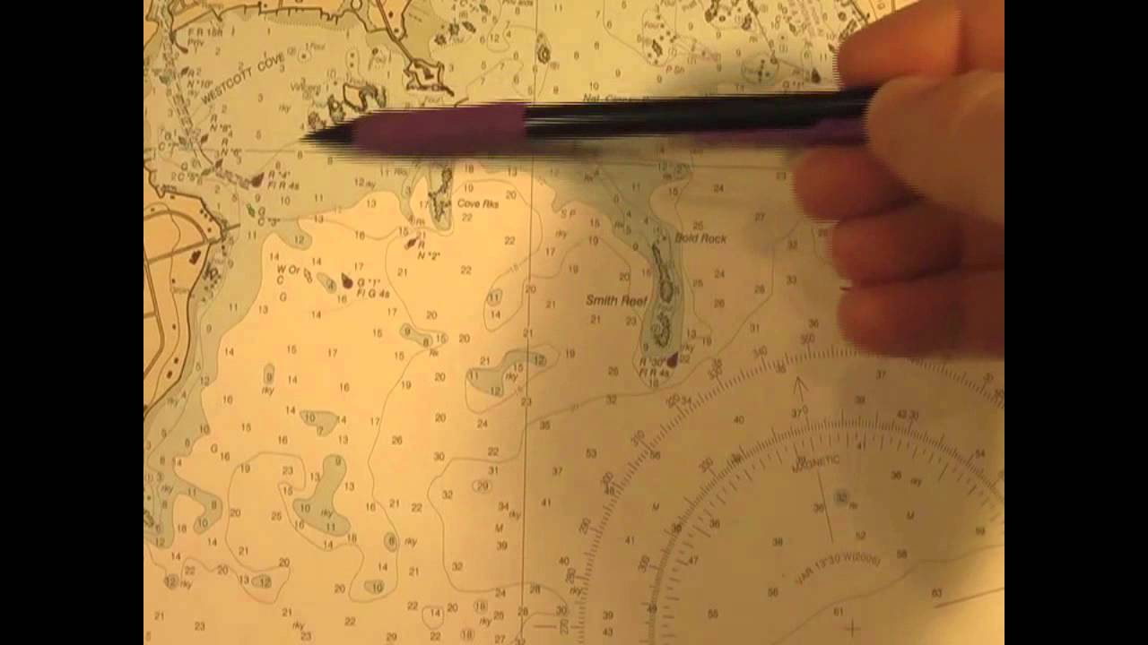 demo - nautical charts - online boat course