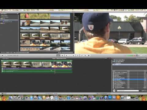 iMovie Multiple Audio Tracks