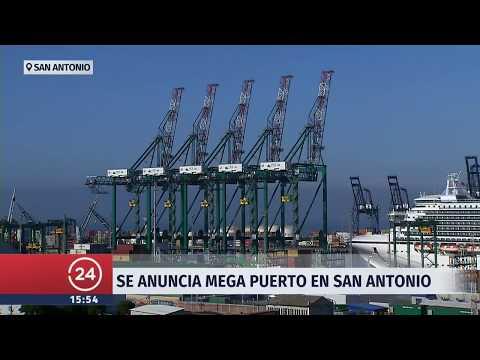 Megapuerto para la macrozona central será construido en en San Antonio