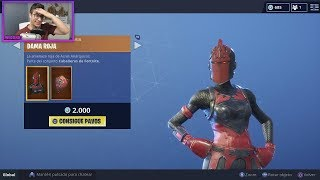 FORTNITE STORE TODAY 9 AUGUST - SKIN RED DAMA 💃💃💃