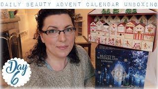 Look Fantastic + M&S Beauty Advent Calendar Unboxing - Day 6 | Down to Earth Beauty | Fun | WavyKate