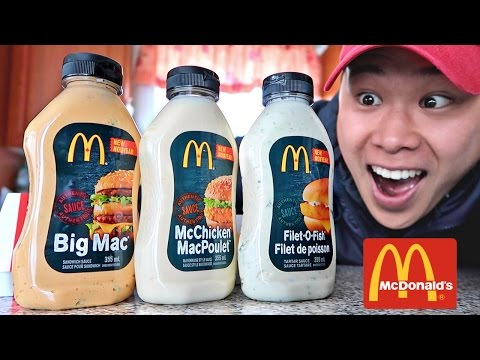 Download Youtube: FOUND MCDONALD'S SECRET SAUCE BOTTLES!!! (LIFE HACKS YOU NEED TO TRY)