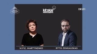 """""""Kitokie pasikalbėjimai"""" su Mariumi Povilu Elijas Martynenko"""
