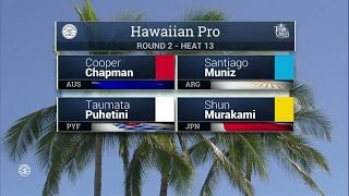 2016 Hawaiian Pro: Round Two, Heat 13