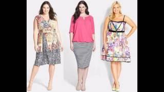 efc5678c85 Ropa de moda para mujeres gorditas 2016 - YouTube