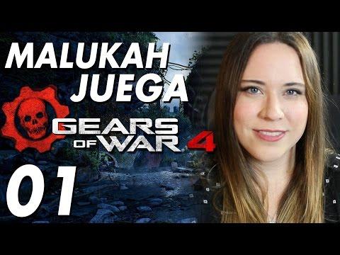 Gears of War 4 - Español Latino - Malukah Juega Ep. 01: Prólogo