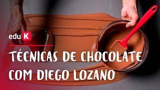 Técnicas do chocolate com Diego Lozano   eduK.com.br