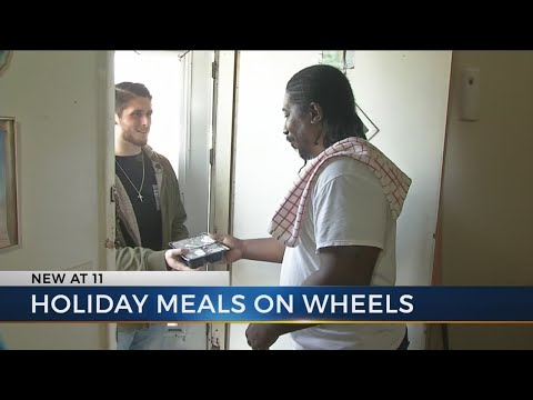 Meals on Wheels helps families for the holidays