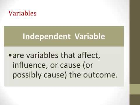 Variables, Part2