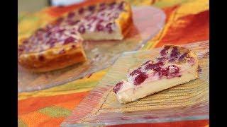 КЛАФУТИ (CLAFOUTIS) - французский пирог с малиной - простой рецепт.