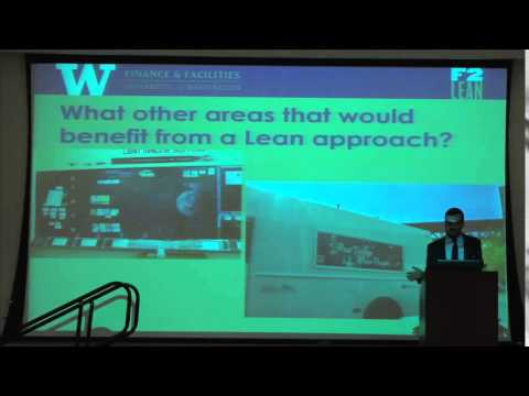 """Lean Process at the University of Washington"" by Mark McKenzie"
