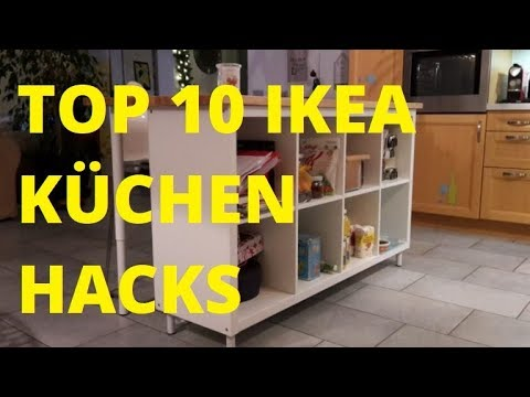 top 10 ikea k chen hacks diy kreatives f r die k che youtube. Black Bedroom Furniture Sets. Home Design Ideas