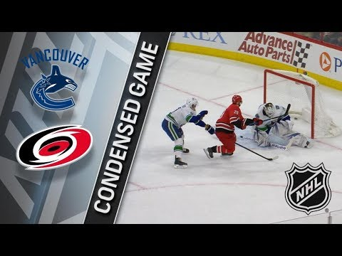 Vancouver Canucks vs Carolina Hurricanes – Feb. 09, 2018 | Game Highlights | NHL 2017/18. Обзор