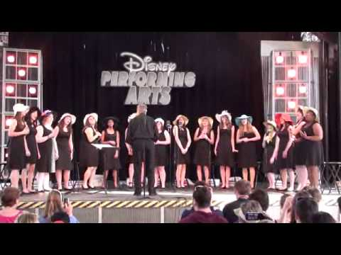 Palmer Jazz Choir Performs at Disney