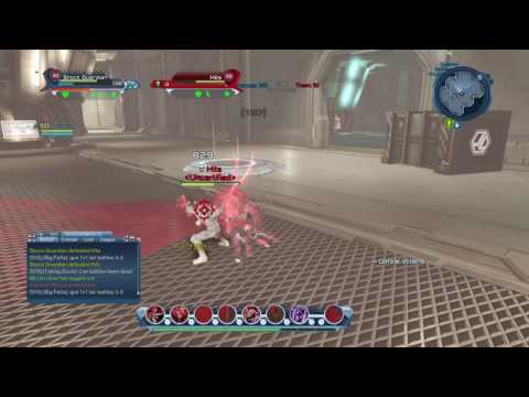 DCUO: When I log back into dc (Shock Vs Who?)
