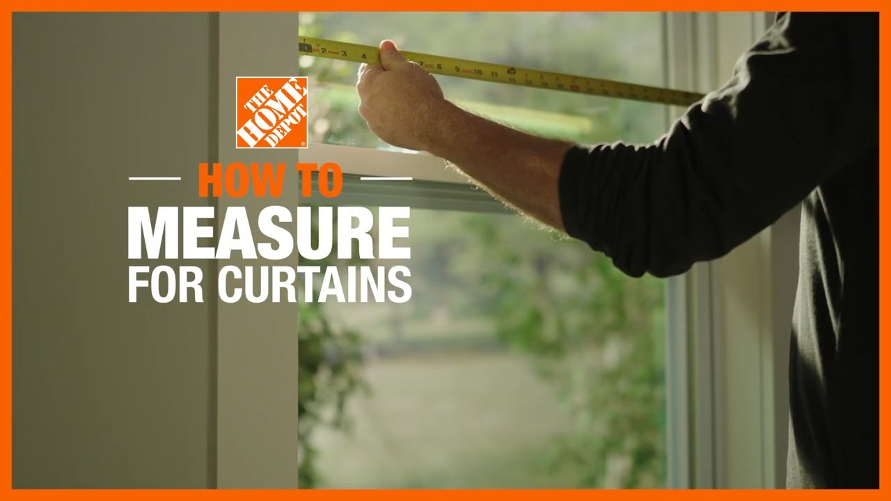 how to hang curtain rods the home depot